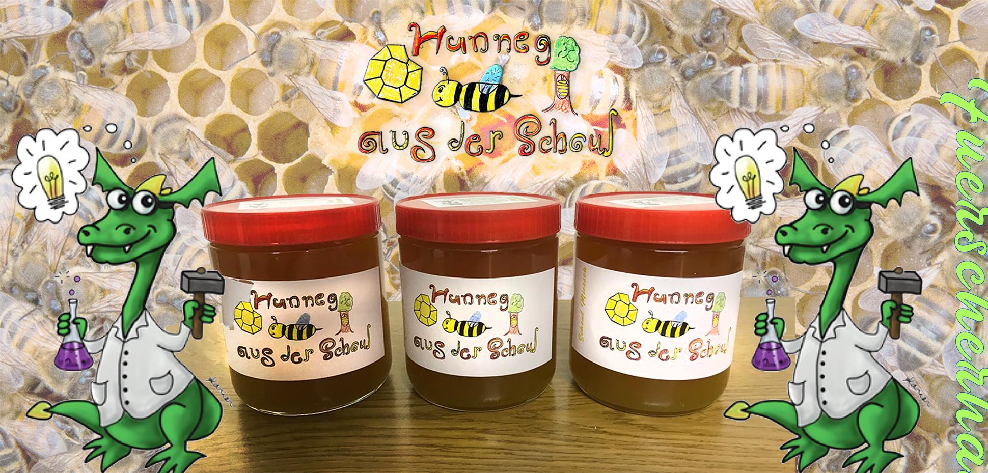 Vente de miel du Fuerscherhaus au Marché de Noël