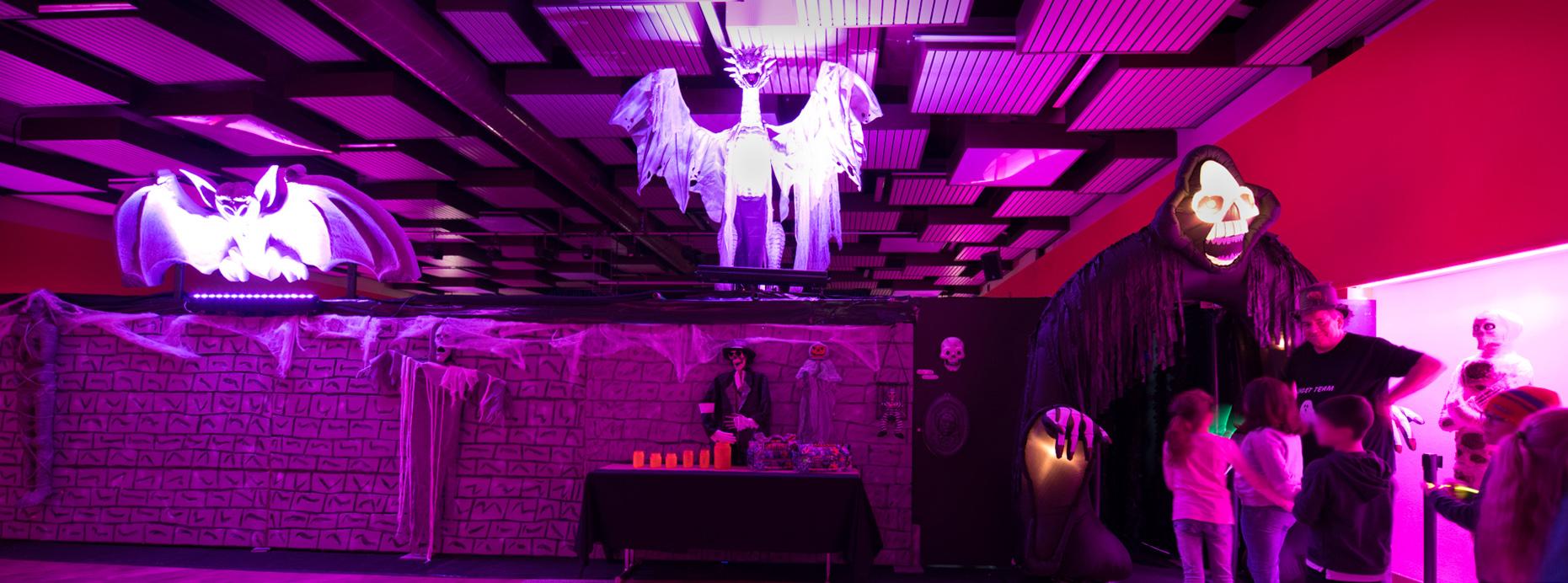 Ghost Hall 2018 du Ghost Team: Paul Biver, Christian Losch et Pol Fantin 5.- 9.11.2018