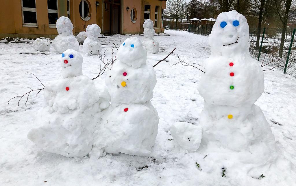 Bonhomme de neige – Janvier 2019