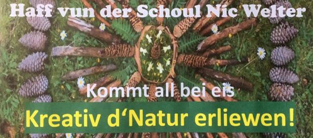Schoulfest 2019 Cycle 1 Miersch Samschdes, 29. Juni vun 14.00-18.00 Auer am Haff vun der Schoul Nic Welter
